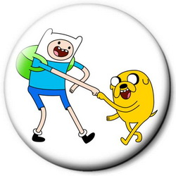 Значок Adventure Time time12