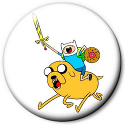 Значок Adventure Time time13