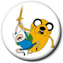 Значок Adventure Time time14