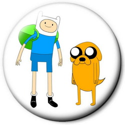 Значок Adventure Time time17