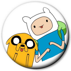 Значок Adventure Time time2
