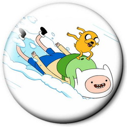 Значок Adventure Time time20