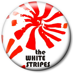 Значок The White Stripes tws2