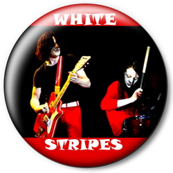 Значок The White Stripes tws6