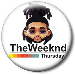 Значок The Weeknd Weeknd4