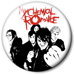 Значок MY CHEMICAL ROMANCE  znmcr22